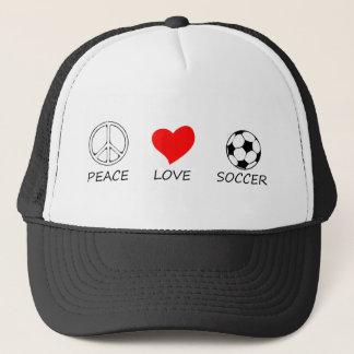 peace love25 trucker hat