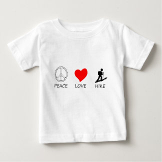 peace love33 baby T-Shirt