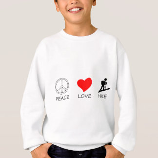 peace love33 sweatshirt