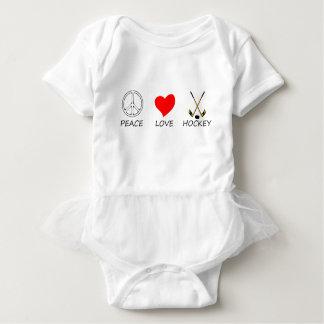 peace love36 baby bodysuit
