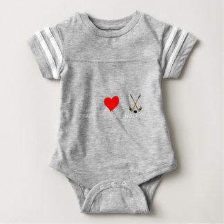 peace love37 baby bodysuit