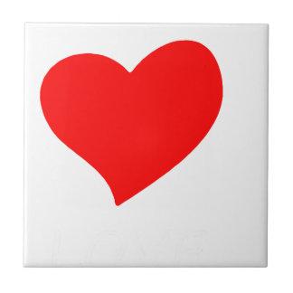 peace love37 ceramic tile