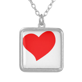 peace love37 silver plated necklace