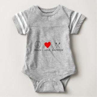 peace love38 baby bodysuit