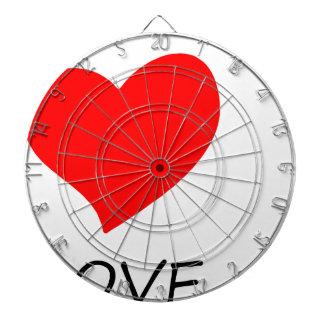peace love38 dartboard