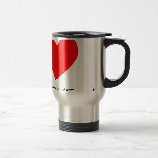 peace love38 travel mug