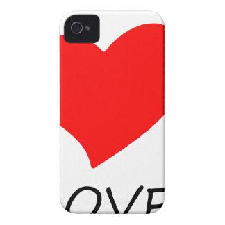 peace love3 iPhone 4 case