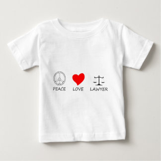 peace love40 baby T-Shirt