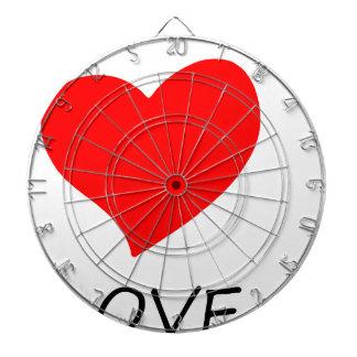 peace love40 dartboard