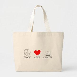 peace love40 large tote bag