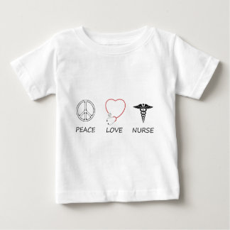 peace love42 baby T-Shirt
