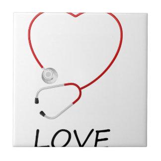peace love44 ceramic tile