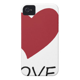 peace love45 iPhone 4 cover