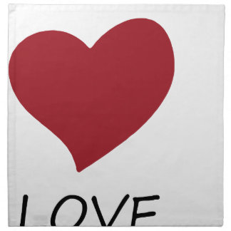 peace love45 napkin