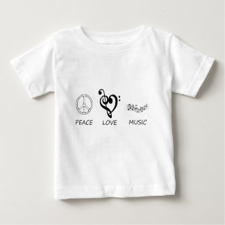 peace love46 baby T-Shirt