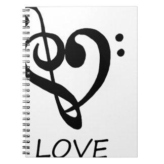 peace love46 notebooks