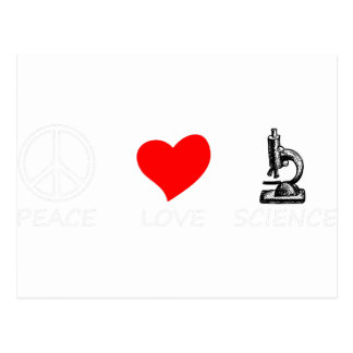 peace love4 postcard