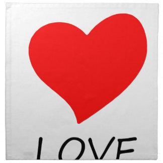 peace love5 napkin