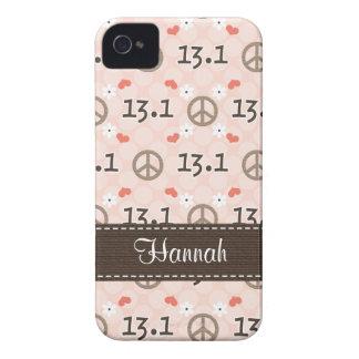 Peace Love 13.1 Blackberry Bold Case Cover