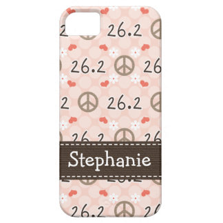 Peace Love 26.2 Barely There iPhone 5 Case