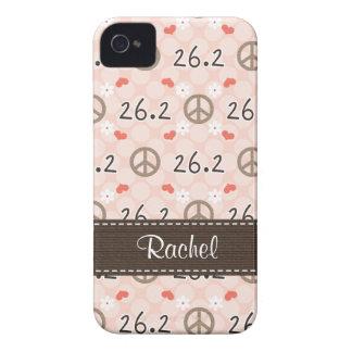Peace Love 26.2 Blackberry Bold Case Cover