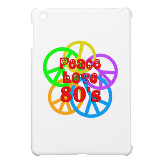 Peace Love 80s iPad Mini Covers