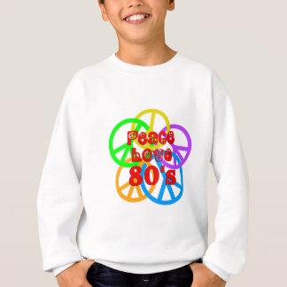 Peace Love 80s Sweatshirt