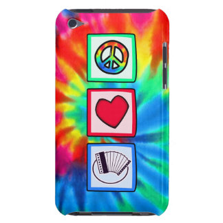 Peace Love Accordions Barely There iPod Cover