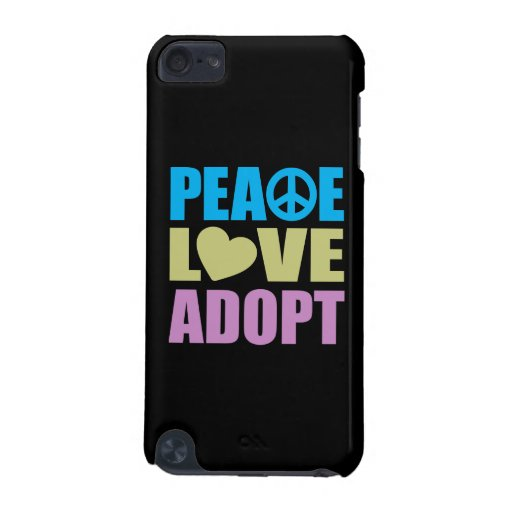 Peace Love Adopt iPod Touch 5G Cases