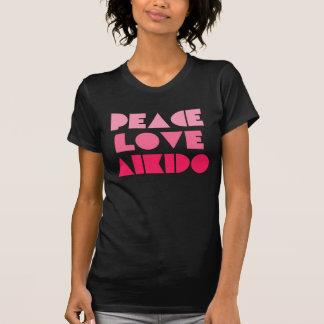 PEACE LOVE AIKIDO T-Shirt