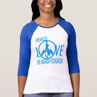 Peace,Love,Amanda Foundation T-Shirt