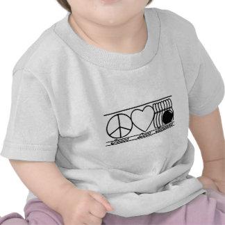 Peace Love and Bowling Tshirt