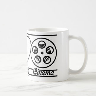 Peace Love and Cinema Coffee Mugs