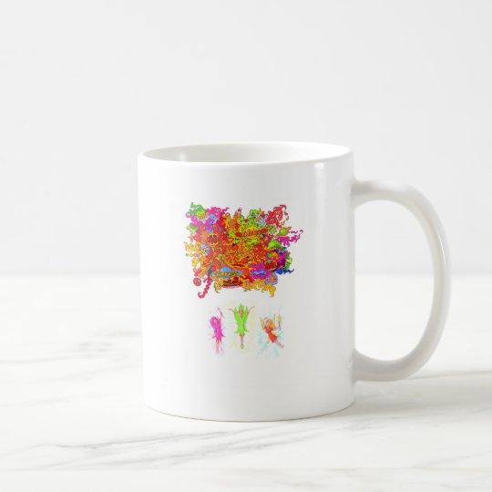 Peace, Love and Happiness Fairies. Coffee Mug