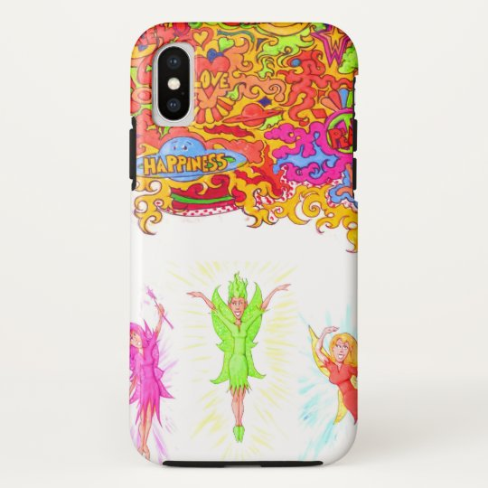 Peace, Love and Happiness Fairies. HTC Vivid Case