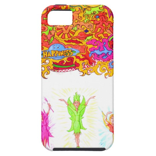 Peace, Love and Happiness Fairies. iPhone 5 Cases