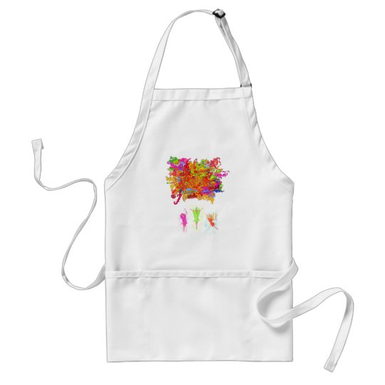 Peace, Love and Happiness Fairies. Standard Apron