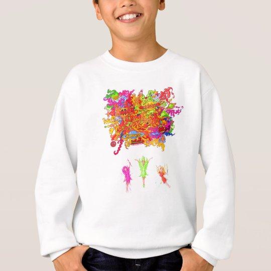 Peace, Love and Happiness Fairies. Sweatshirt
