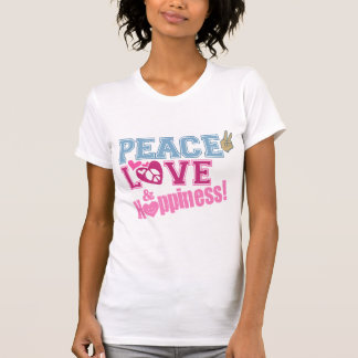 Peace Love and Happiness Tank Tops