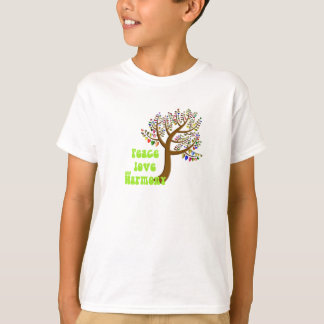 Peace love and harmony T-Shirt