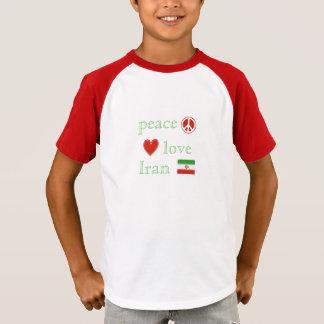 Peace Love and Iran children's T-Shirt