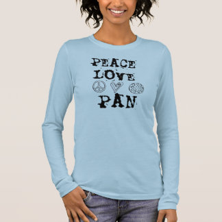 Peace, Love and Pan shirt