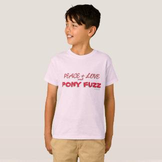 Peace + Love and Pony Fuzz T-Shirt