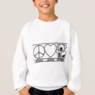 Peace Love and Puppets Sweatshirt