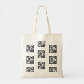 Peace, Love and Rock 'n Roll Tote Bag