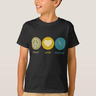 Peace Love Architecture T-Shirt