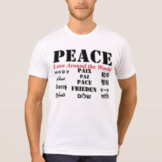 Peace-Love Around the World/188 styles design T-shirts