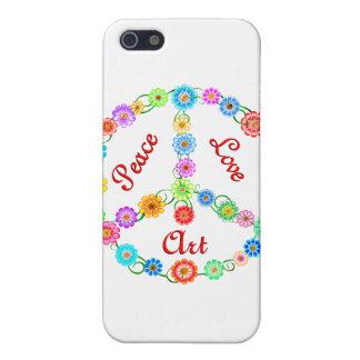 Peace Love Art iPhone 5 Case