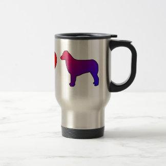 Peace Love Australian Shepherds Travel Mug