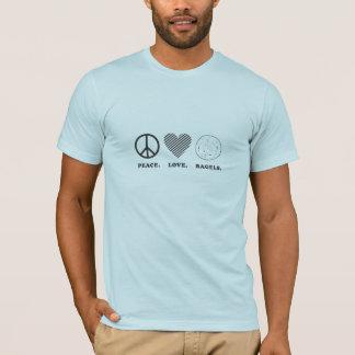 Peace. Love. Bagels. T-Shirt